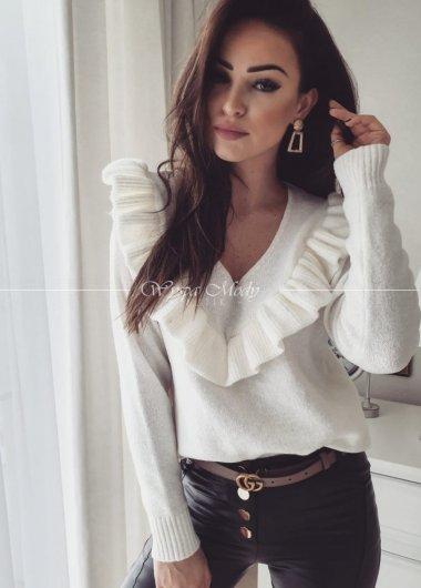 Sweter ecru luis