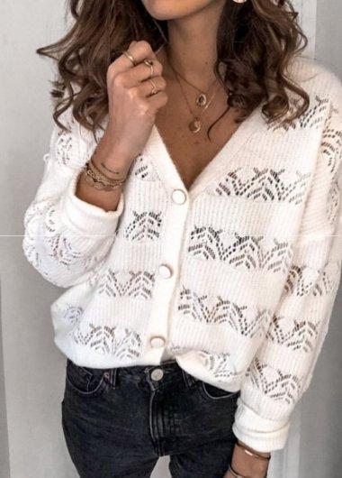 Sweterek glamour Gold