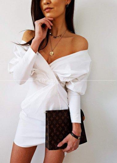 Sukienka LOU WHITE