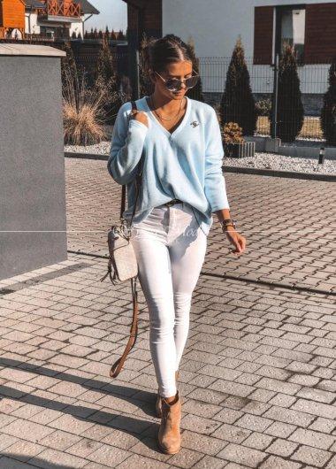 Sweterek Chanel Blue