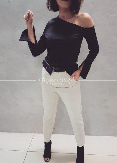 Bluzka Black asymetryczna