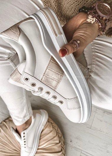 Adidasy white&Beige