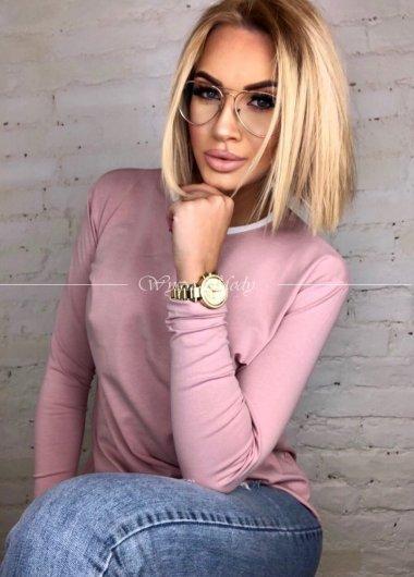 Bluzka oversize Pink