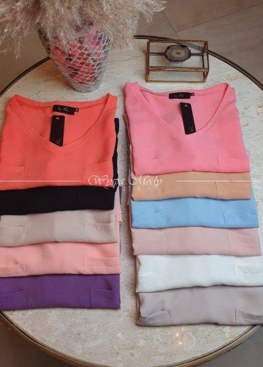Koszula Chanel mix kolor