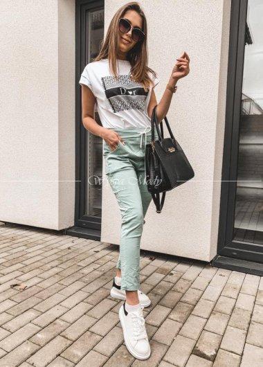 Spodnie dresowe mint