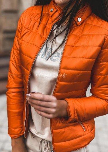 Kurtka marsala orange