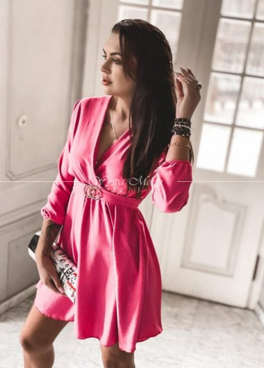 Sukienka Paris pink