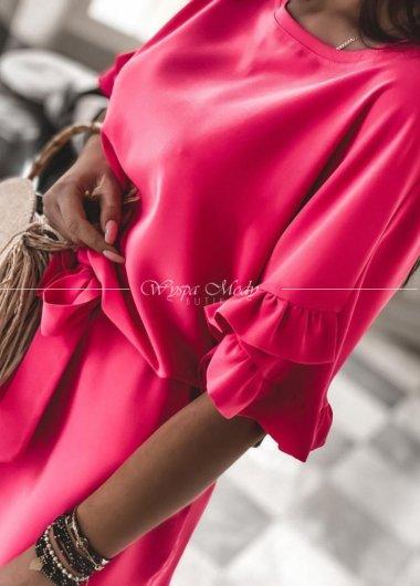 Sukienka Liguria Fuksja