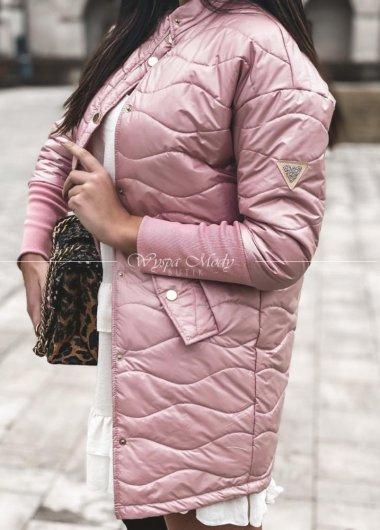 Płaszcz pikowany infrosso Pink