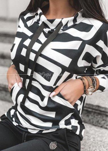 BLUZA BLACK&WHITE