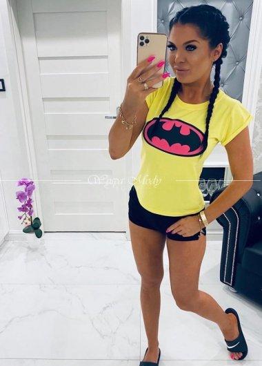 Tshirt Batman yellow