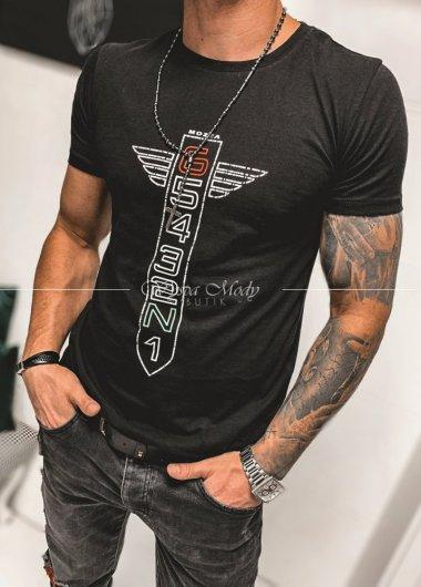 T shirt męski black