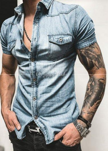 Koszula jeansowa Blue