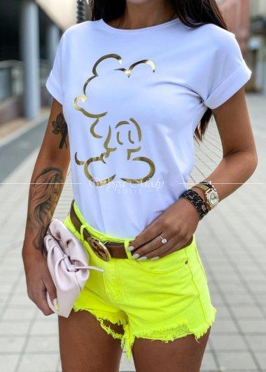 Tshirt miki white