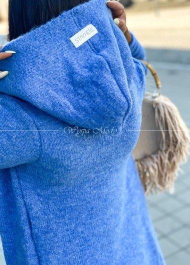 Kardigan Dark Blue Bolonia
