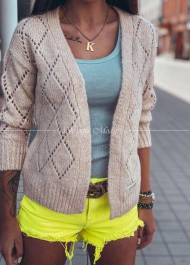 Sweterek azurkowy medium