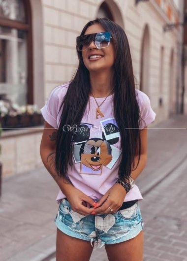 T shirt photo Pink