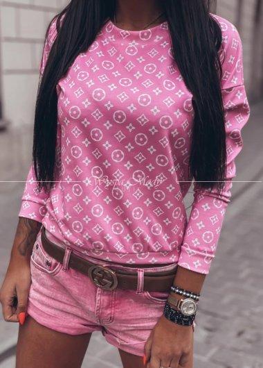 Bluza lv Pink