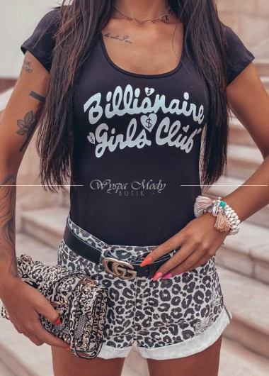 T shirt oaza Club black