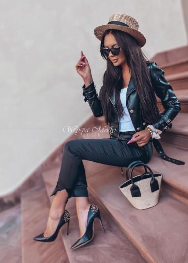 Spodnie dresowe satyna black