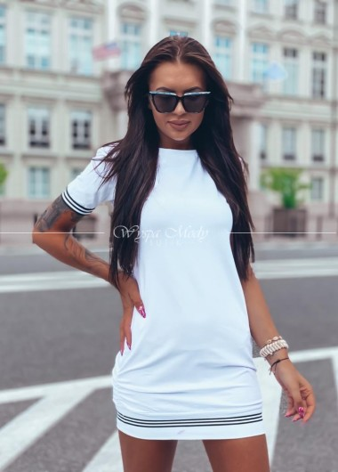 Sukienka Melodie white