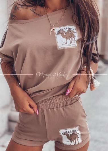 komplet Camel Beige