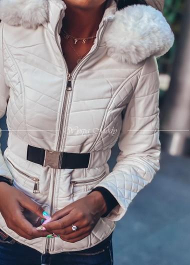 Kurtka Noemi white