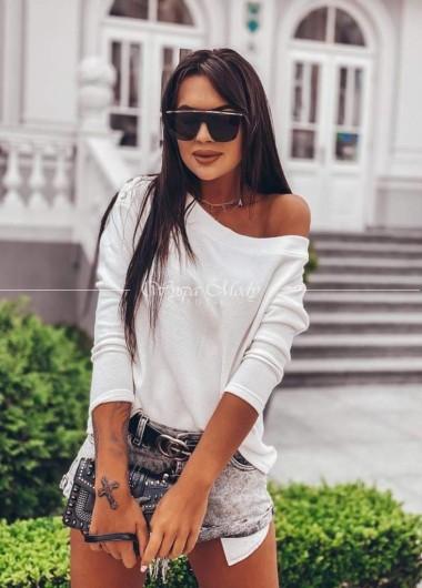 Sweterek santrope white