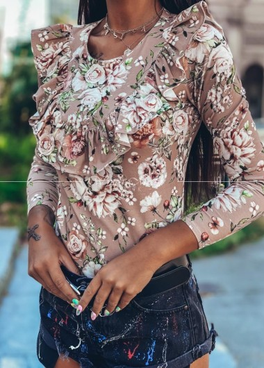 Koszula flowers Latika