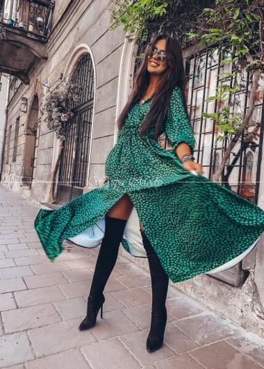 Sukienka maxi Green centki