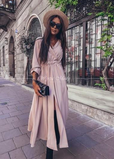 Sukienka maxi Beige Florencja ( wydłużony czas wysyłki )