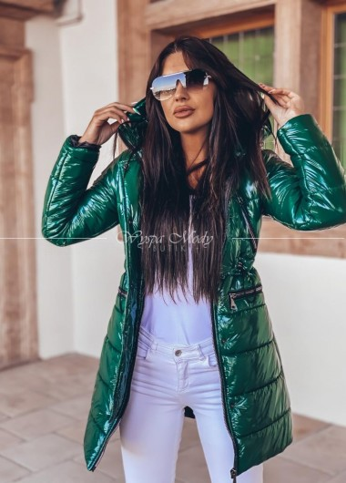 płaszczyk pikowany green modo