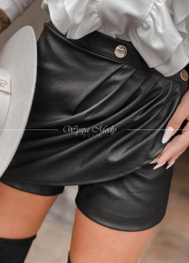 Spodniczko spodenki black