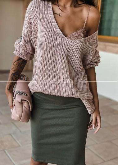 Sweterek Miluna pink