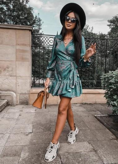 Sukienka Cloe green czas wysyslki do 10 dni roboczych