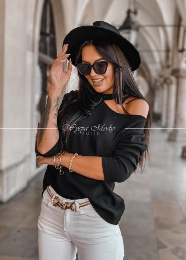 Sweterek hoker black