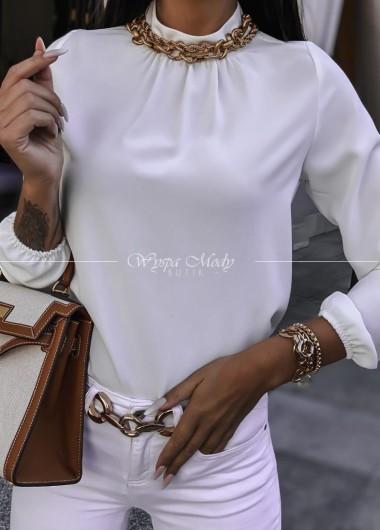 Koszula white trecol