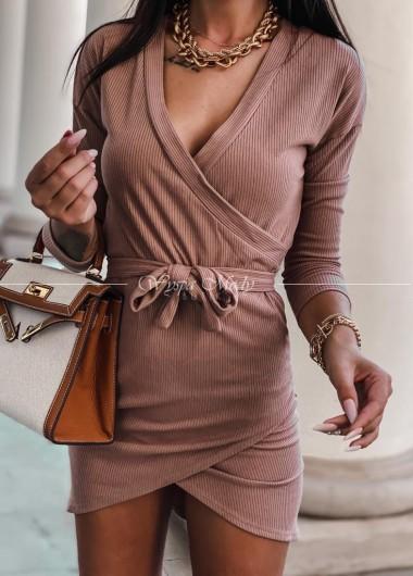 Sukienka Carla camel