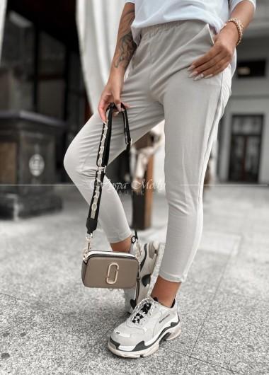 spodnie dresowe Seila beige
