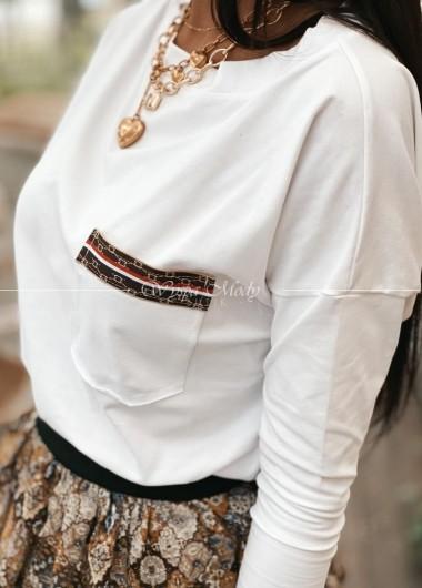 T shirt white gg