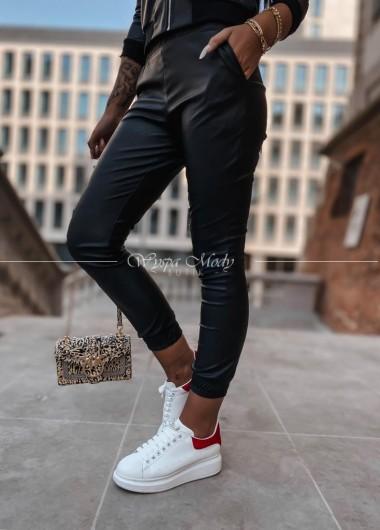 Spodnie skórkowe Mirra black