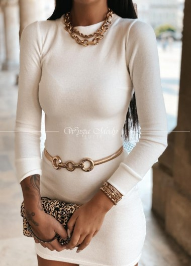 Sukienka Claire white