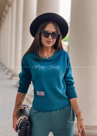 Sweterek Amelia green