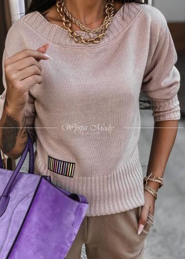 Sweterek Amelia pink