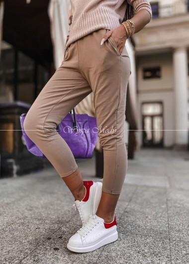 Spodnie dresowe Ivett beige