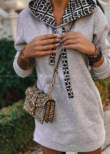 Sukienka dresowa Milano grey