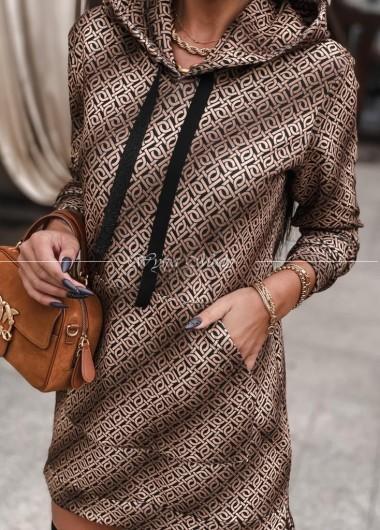 Sukienka dresowa LV
