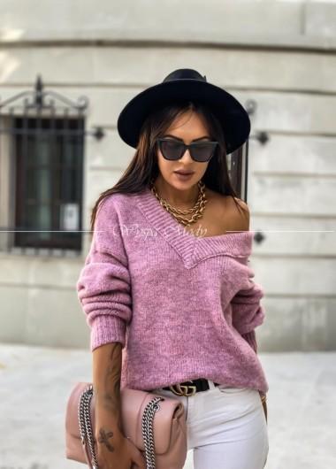 Sweterek Dalia lila