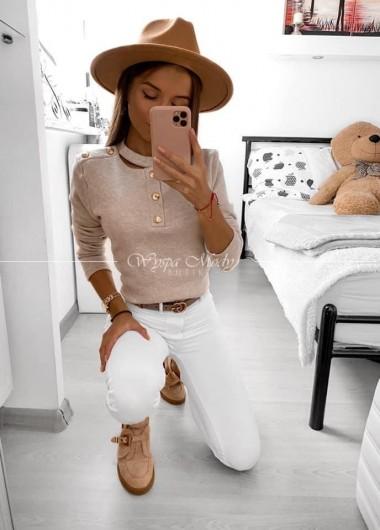 Sweterek Mia beige