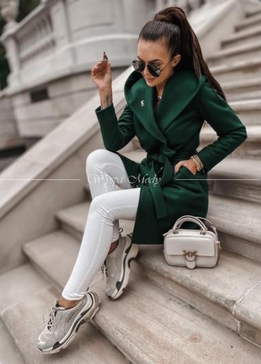 Płaszcz jesienno - zimowy ysl khaki